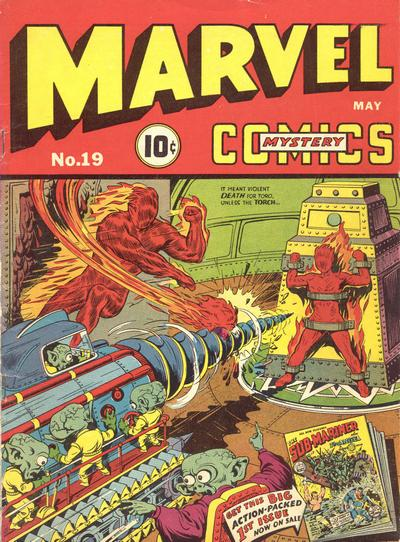 Marvel Mystery Comics 19