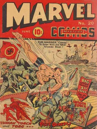 Marvel Mystery Comics 20