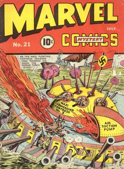 Marvel Mystery Comics 21