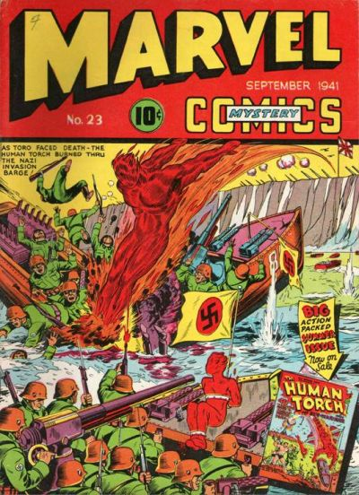 Marvel Mystery Comics 23