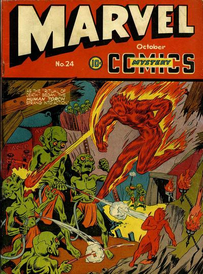 Marvel Mystery Comics 24