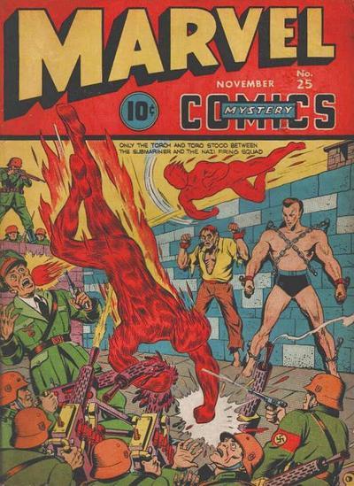 Marvel Mystery Comics 25