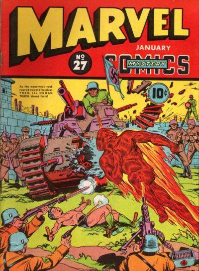 Marvel Mystery Comics 27