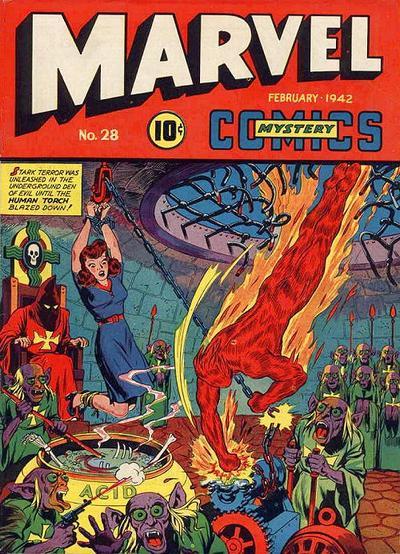 Marvel Mystery Comics 28