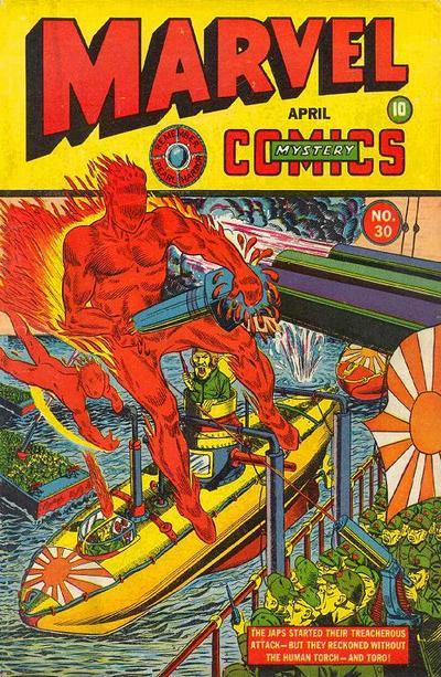 Marvel Mystery Comics 30