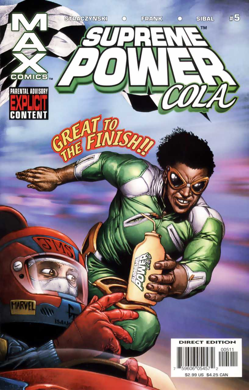 Supreme Power 5 - Crank Up the Volume