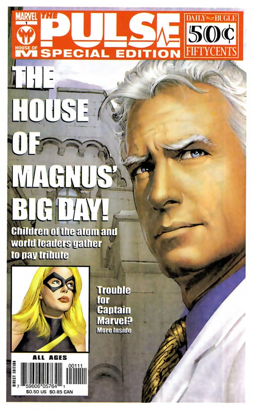 The Pulse - House of M Special 1