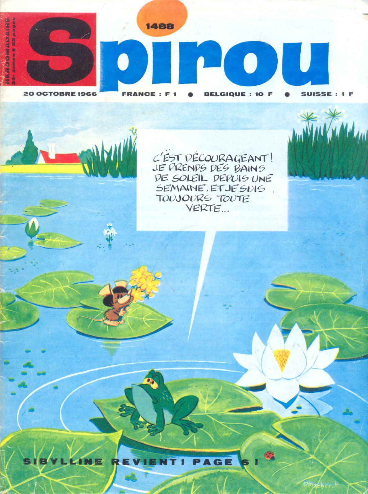Le journal de Spirou 1488