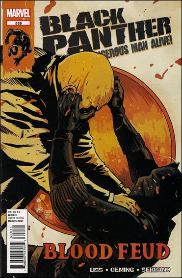 Black Panther - The Most Dangerous Man Alive 528 - Blood Fued