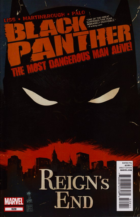 Black Panther - The Most Dangerous Man Alive 529 - Reign's End