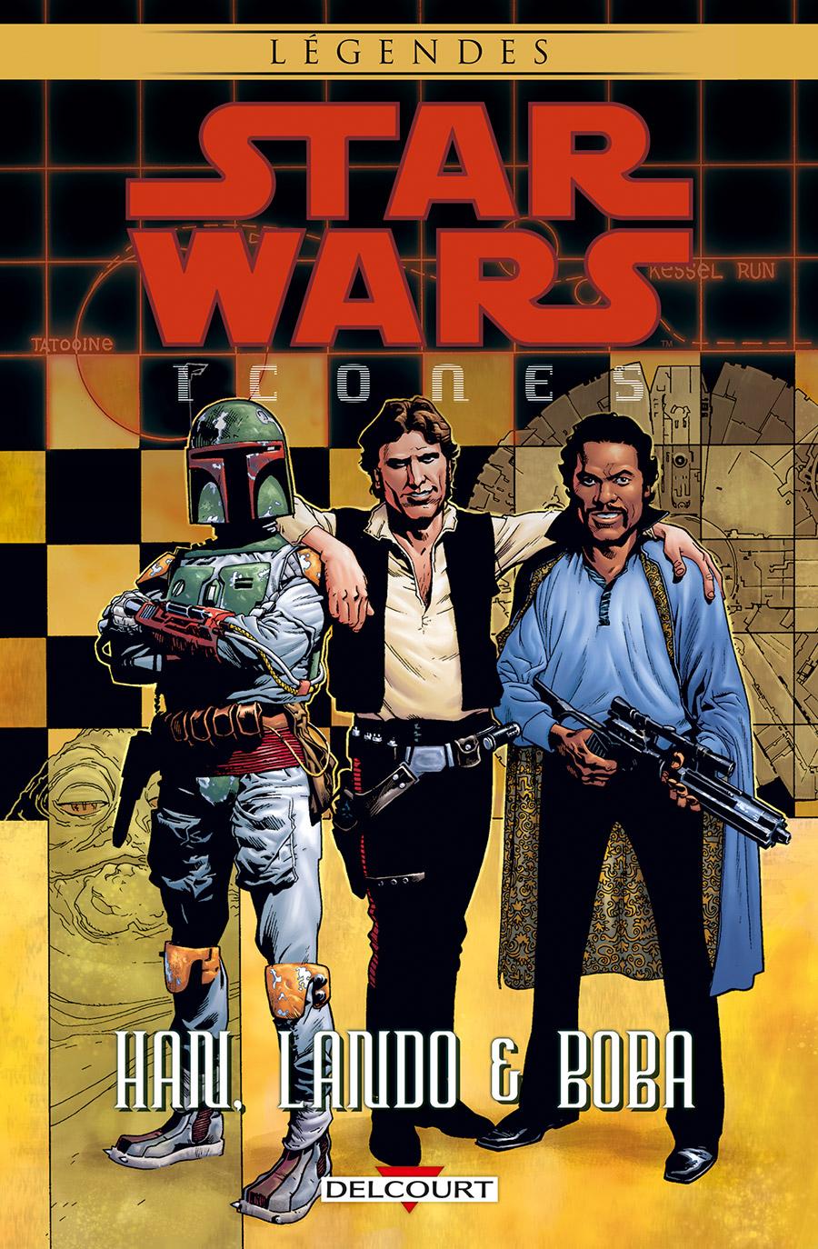 Star Wars - Icônes 5 - Han, Lando & Boba