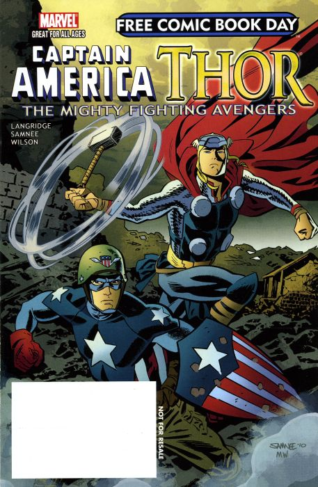 Free Comic Book Day 2011 - Thor : The Mighty Avenger 1