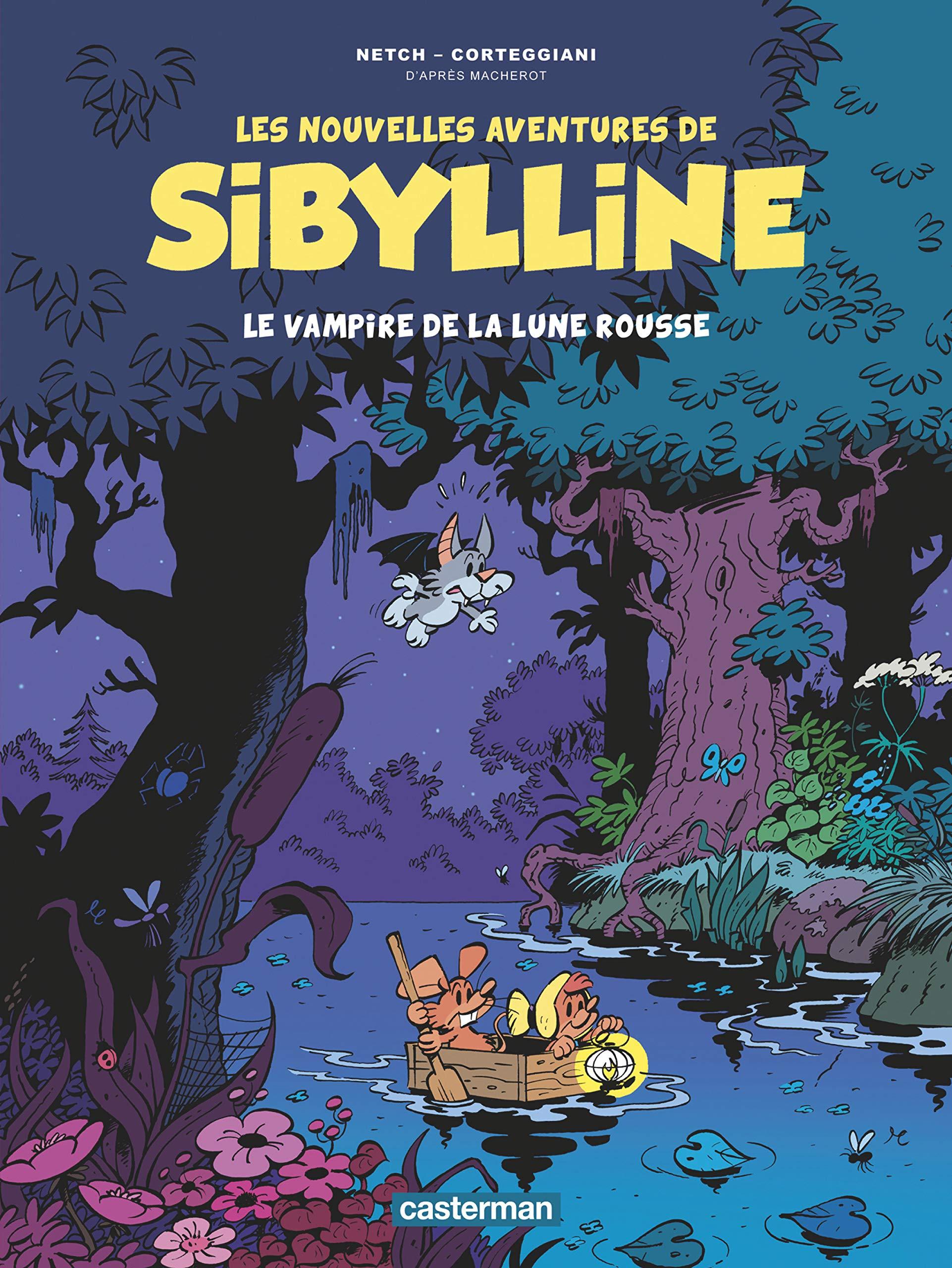 Les nouvelles aventures de Sibylline 2 - Le vampire de la lune rousse