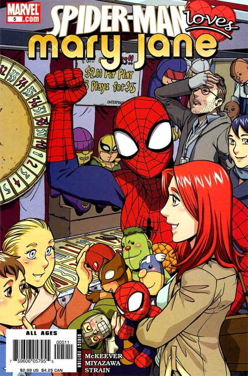 Spider-Man aime Mary Jane 5 - The Unexpected Thing