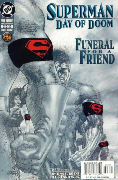 Superman - Jour de deuil 3 - Funeral For a Friend