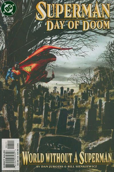 Superman - Jour de deuil 4 - World Without a Superman
