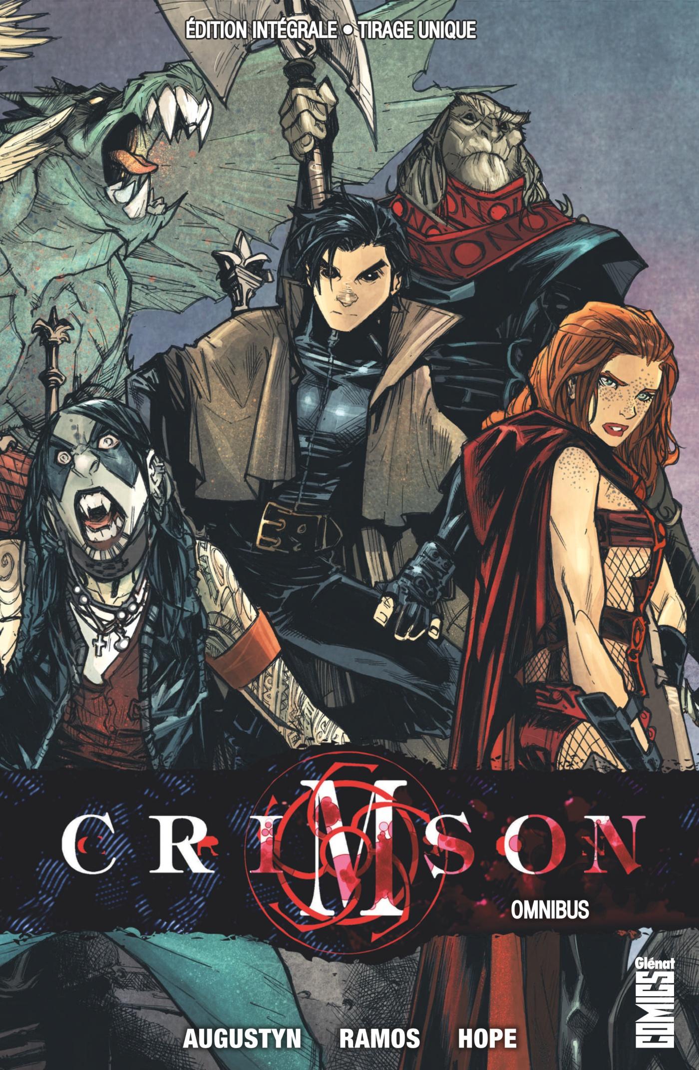 Crimson Omnibus 1 - L'odyssée d'Alex Elder