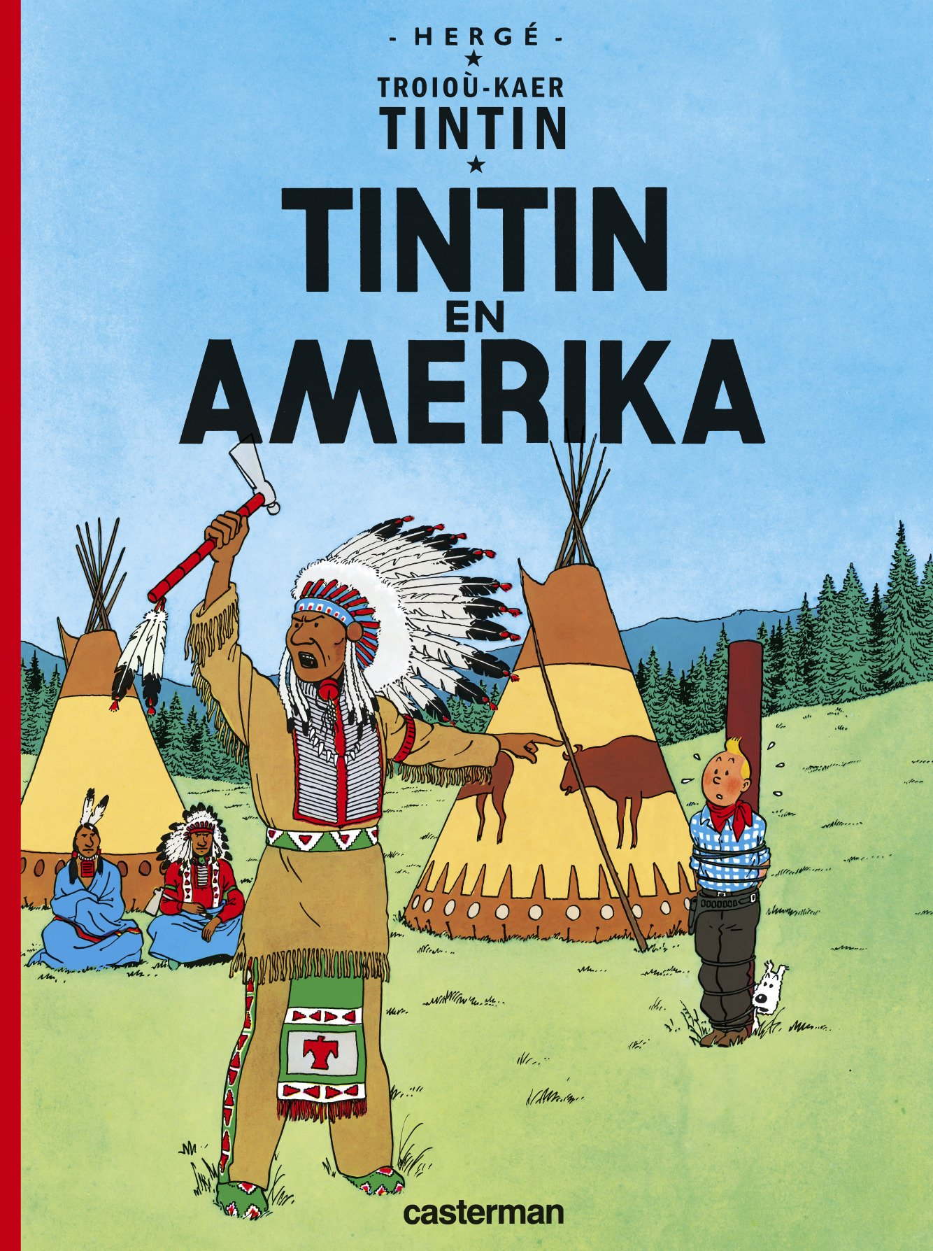 Tintin (Les aventures de) 3 - Tintin en Amerika