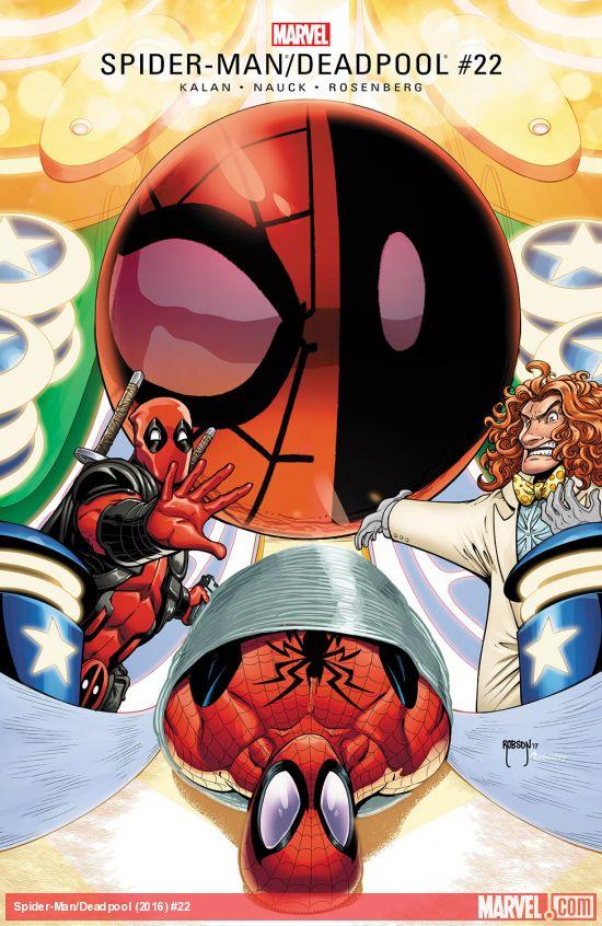 Spider-Man / Deadpool 22 - It's a Murder, Murder, Murder, Murder World