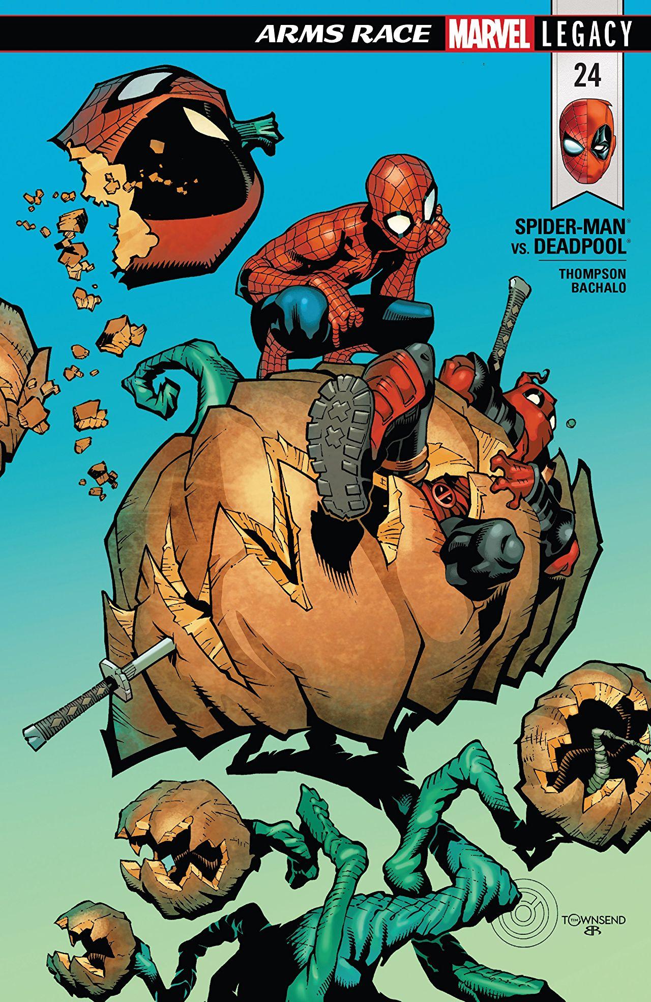 Spider-Man / Deadpool 24 - Arms Race Part 1