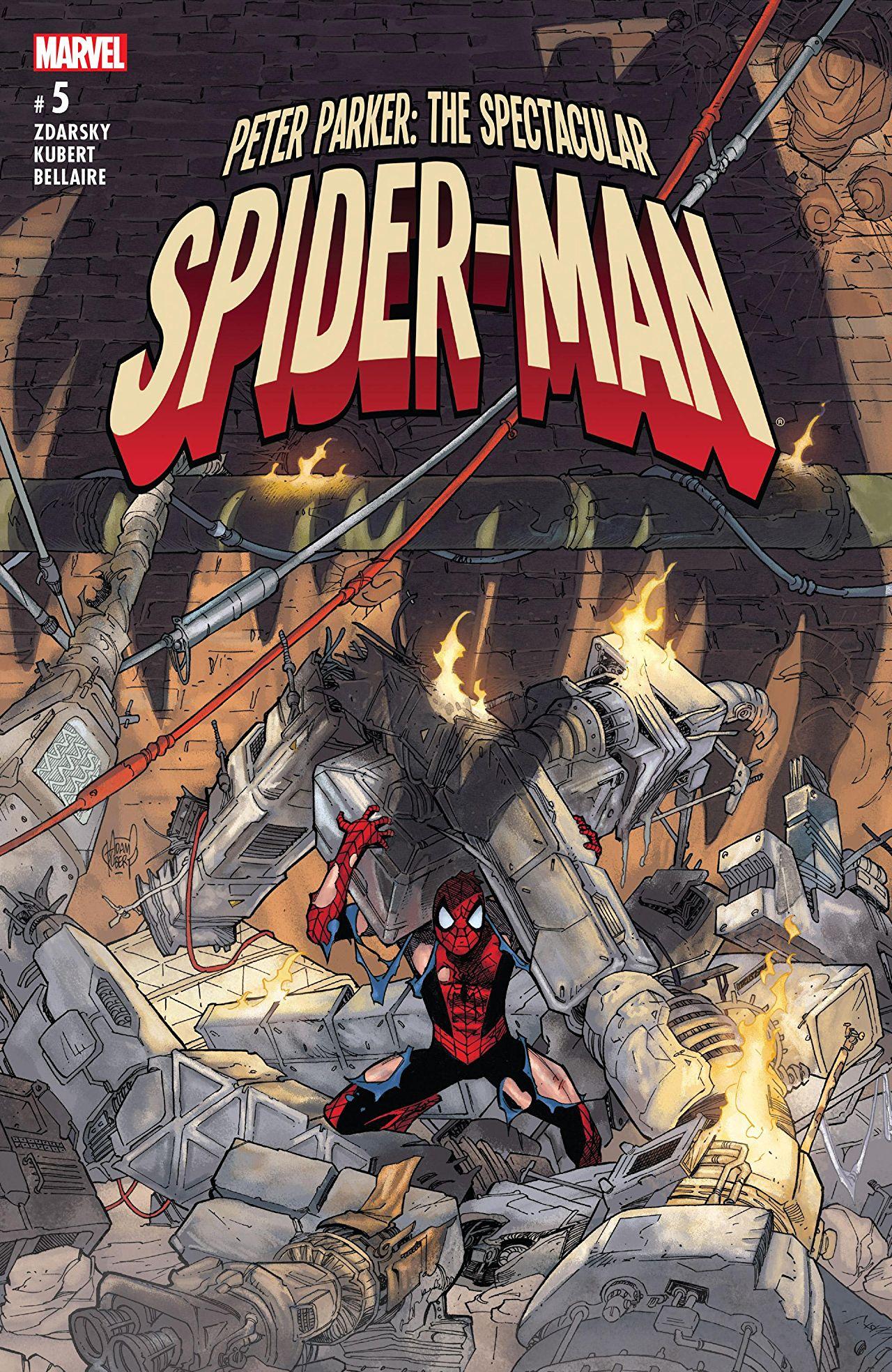 Peter Parker - The Spectacular Spider-Man 5 - Flight Risk