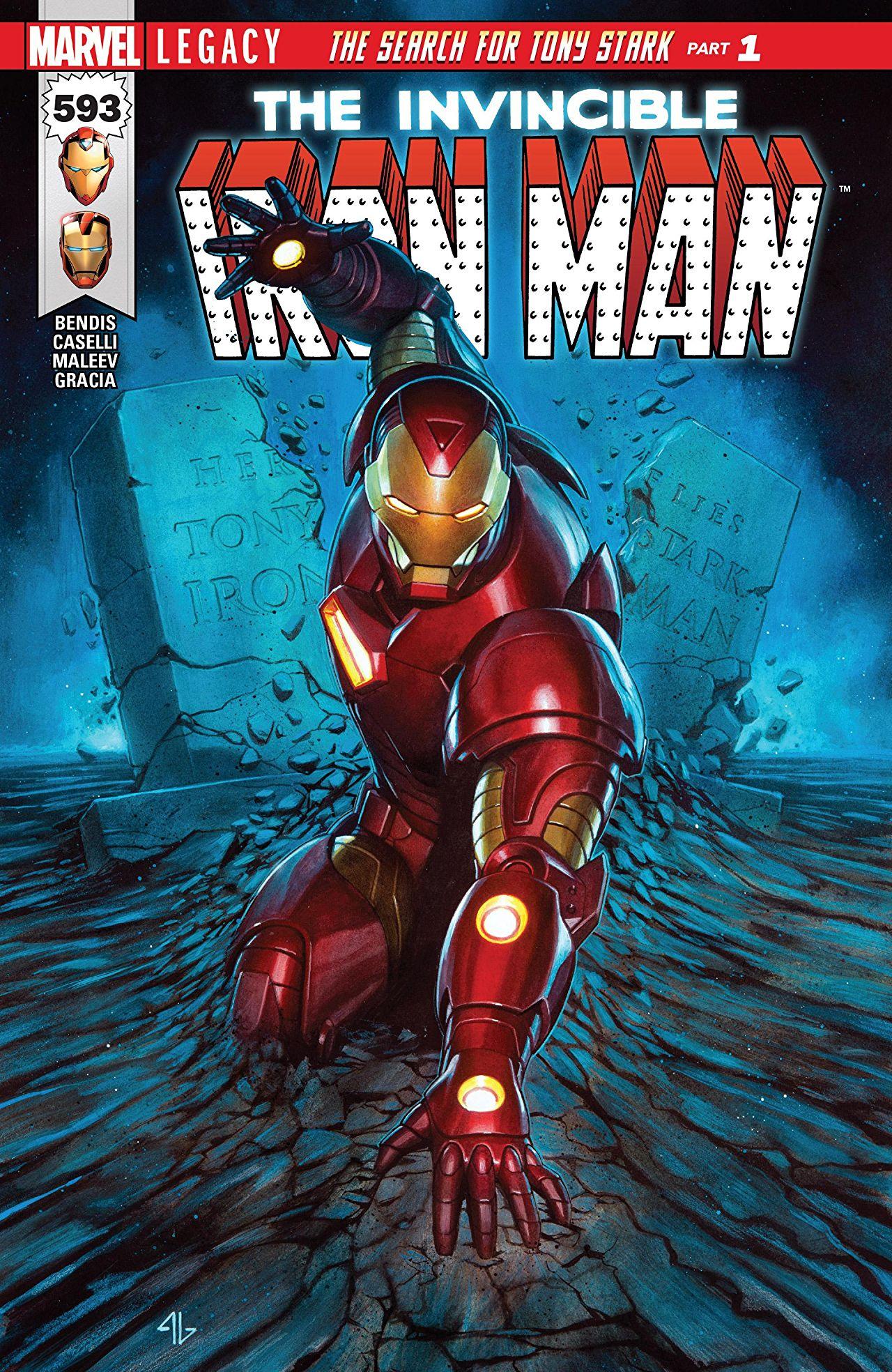 Invincible Iron Man 593 - THE SEARCH FOR TONY STARK