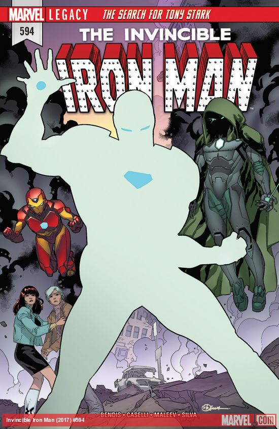 Invincible Iron Man 594 - THE SEARCH FOR TONY STARK Part 2