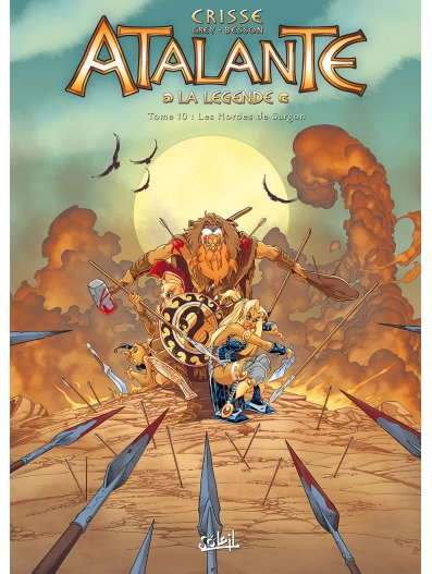 Atalante 10 - Les hordes de Sargon