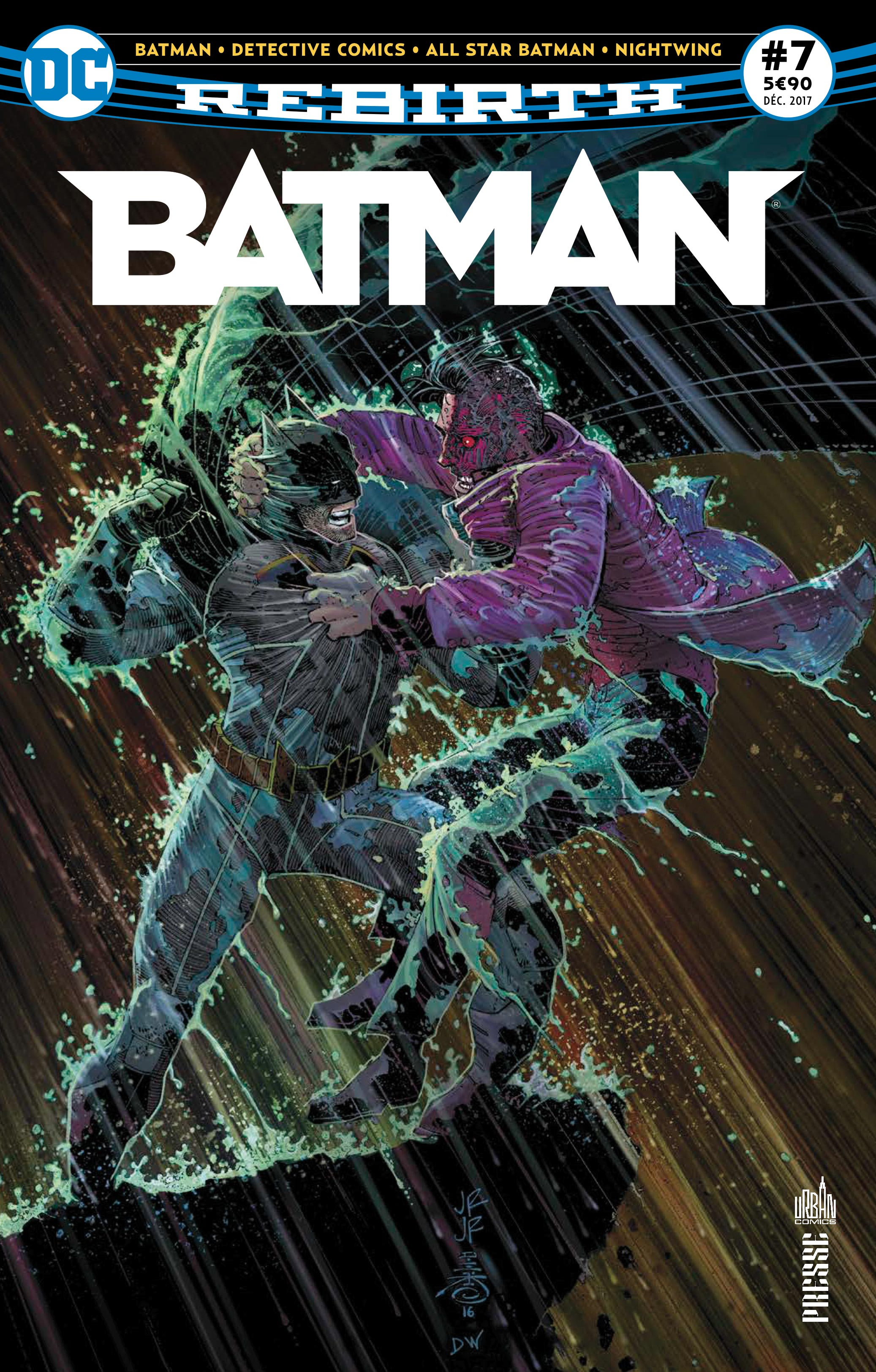 Batman Rebirth 7 - Le chat et la chauve-souris  !