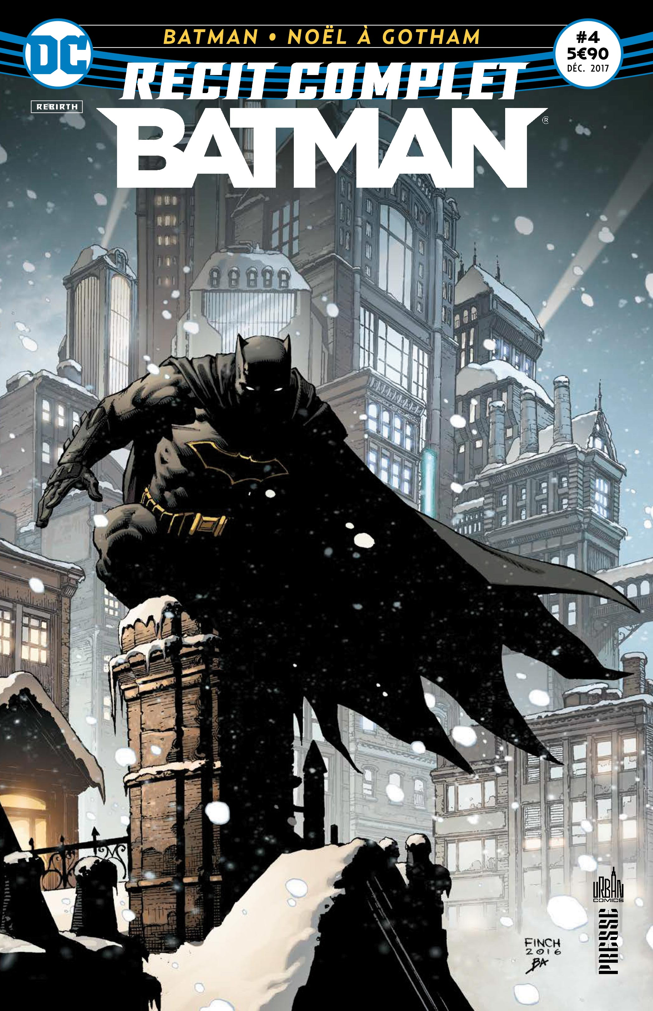 Récit Complet Batman 4 - Noël à Gotham