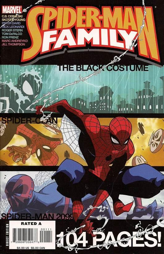 Spider-Man Family Featuring Spider-Clan 1
