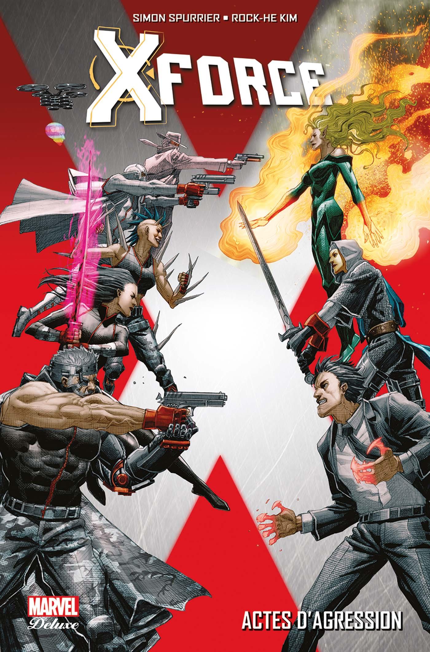 X-Force 1 - Actes d'Agression