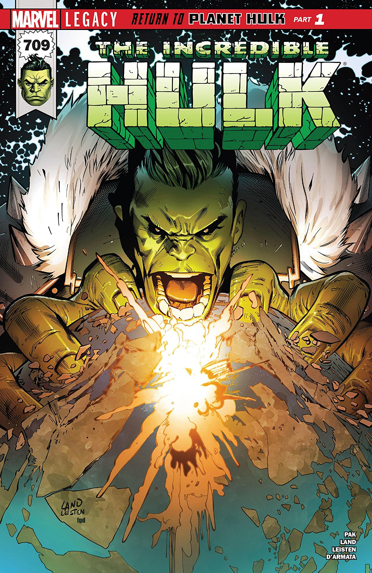The Incredible Hulk 709 - RETURN TO PLANET HULK