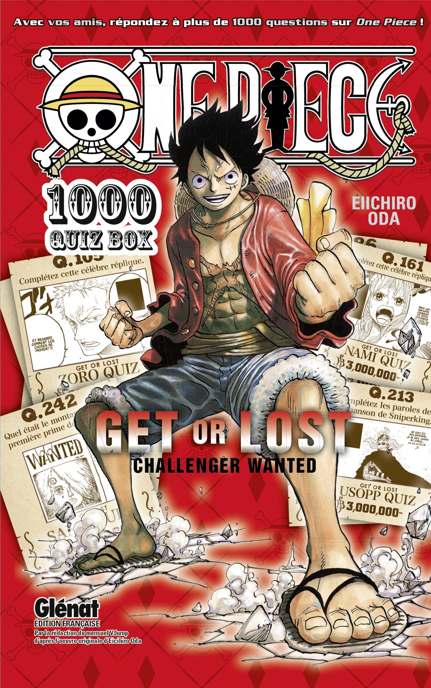 One Piece 500 QUIZ BOOK 1