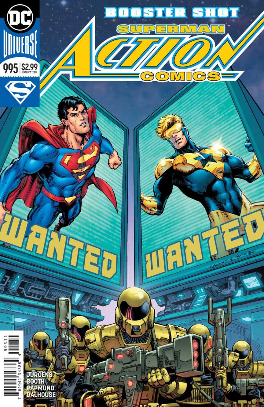 Action Comics 995 - Booster Shot 3