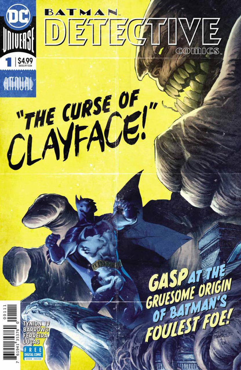 Batman - Detective Comics 1 - Clay
