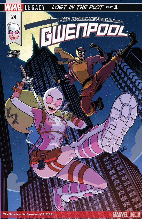 Gwenpool 24 - LOST IN THE PLOT PART 1