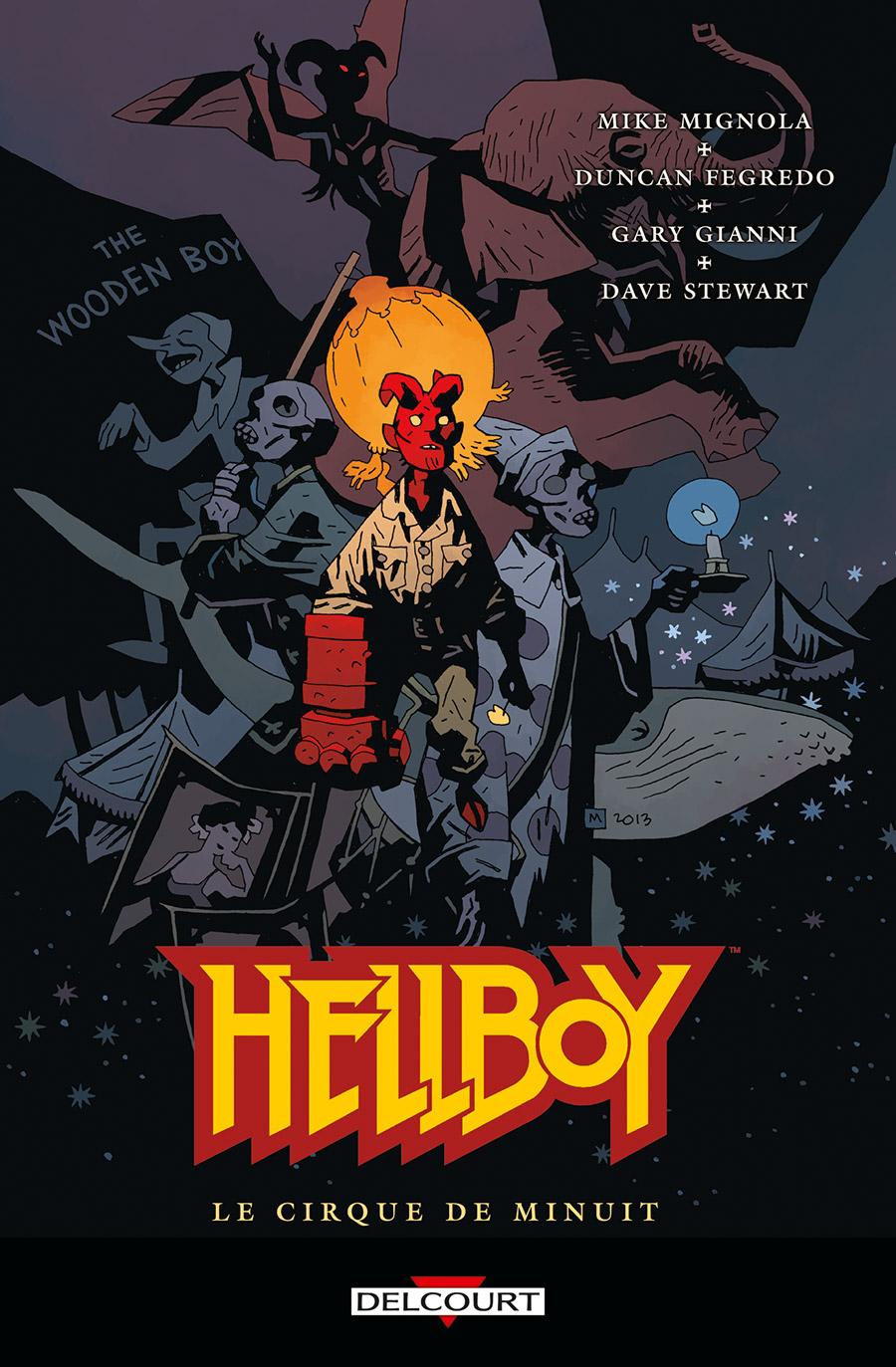 Hellboy 16 - Le Cirque de minuit