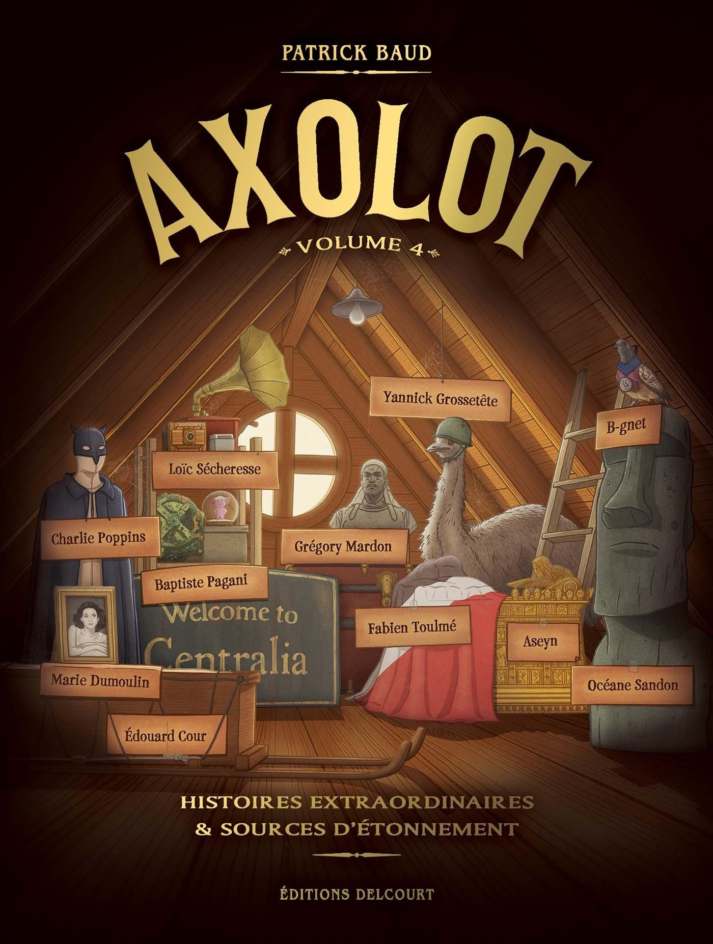 Axolot 4 - Volume 4