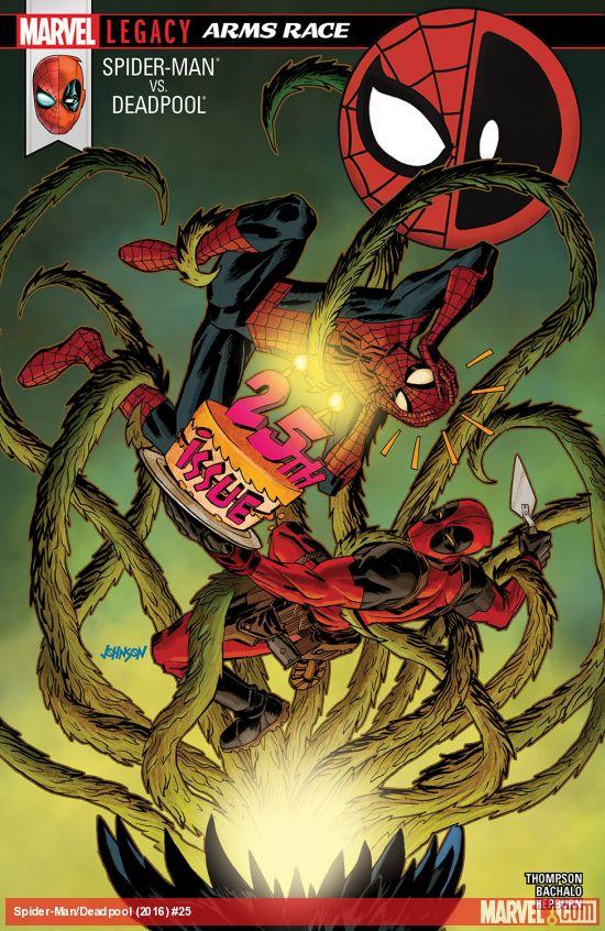 Spider-Man / Deadpool 25 - Arms Race Part 2