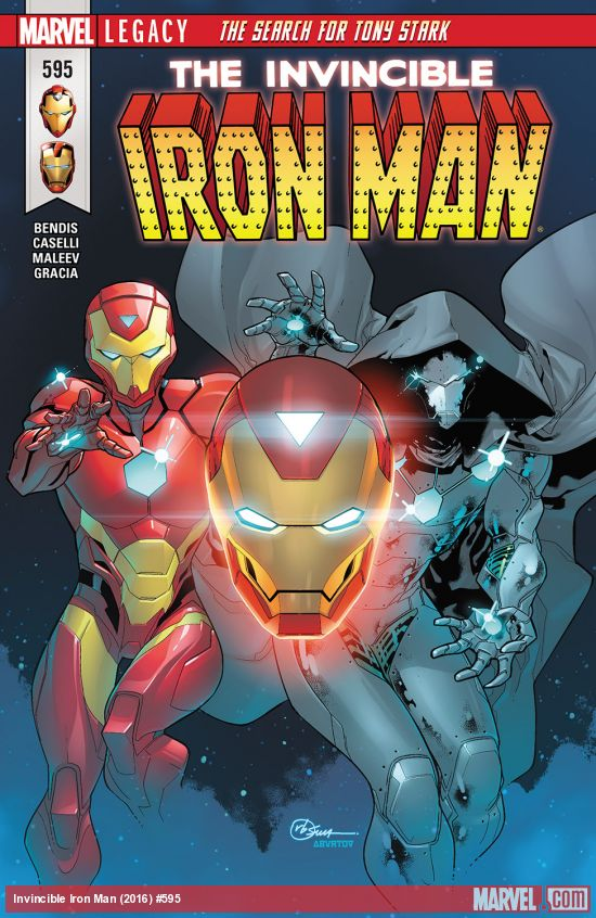 Invincible Iron Man 595 - THE SEARCH FOR TONY STARK Part 3