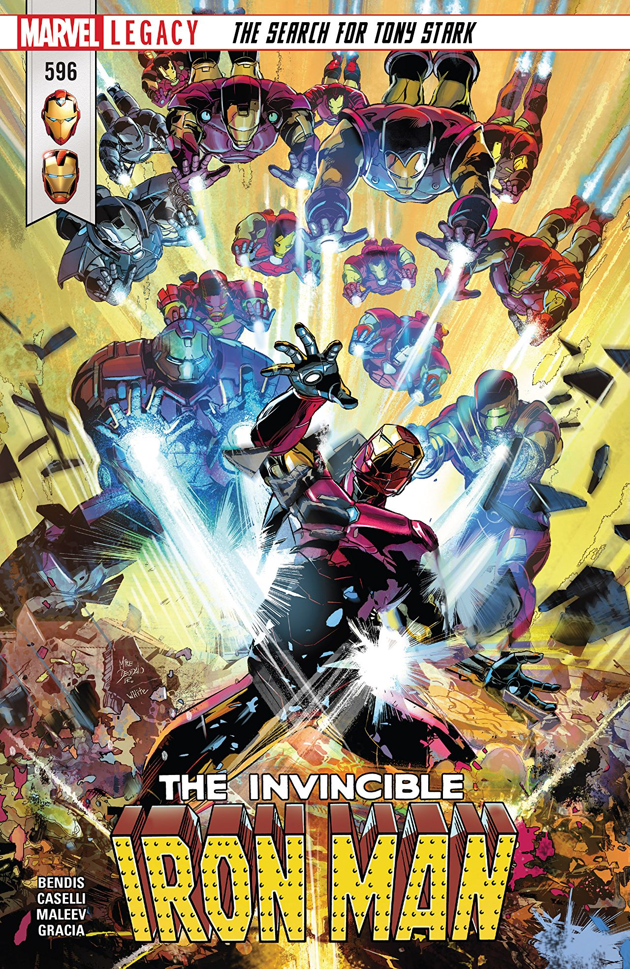 Invincible Iron Man 596 - THE SEARCH FOR TONY STARK Part 4