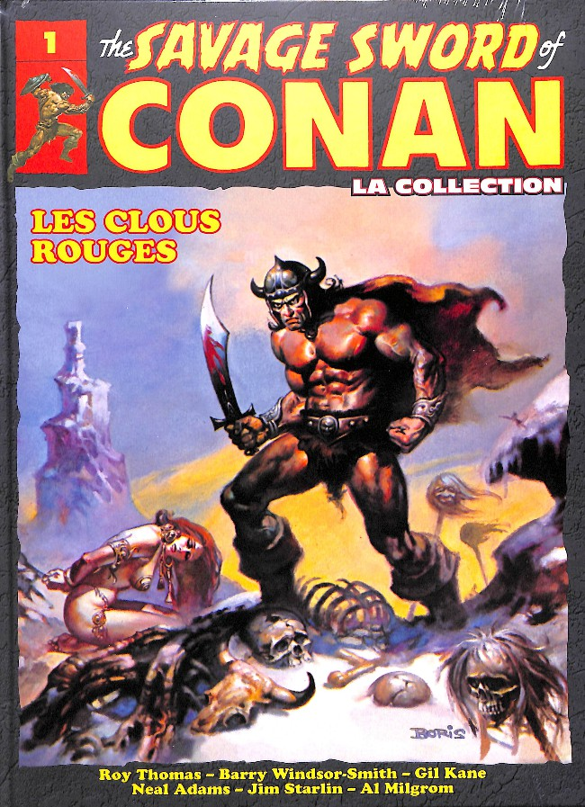 The Savage Sword of Conan 1 - Clous Rouge