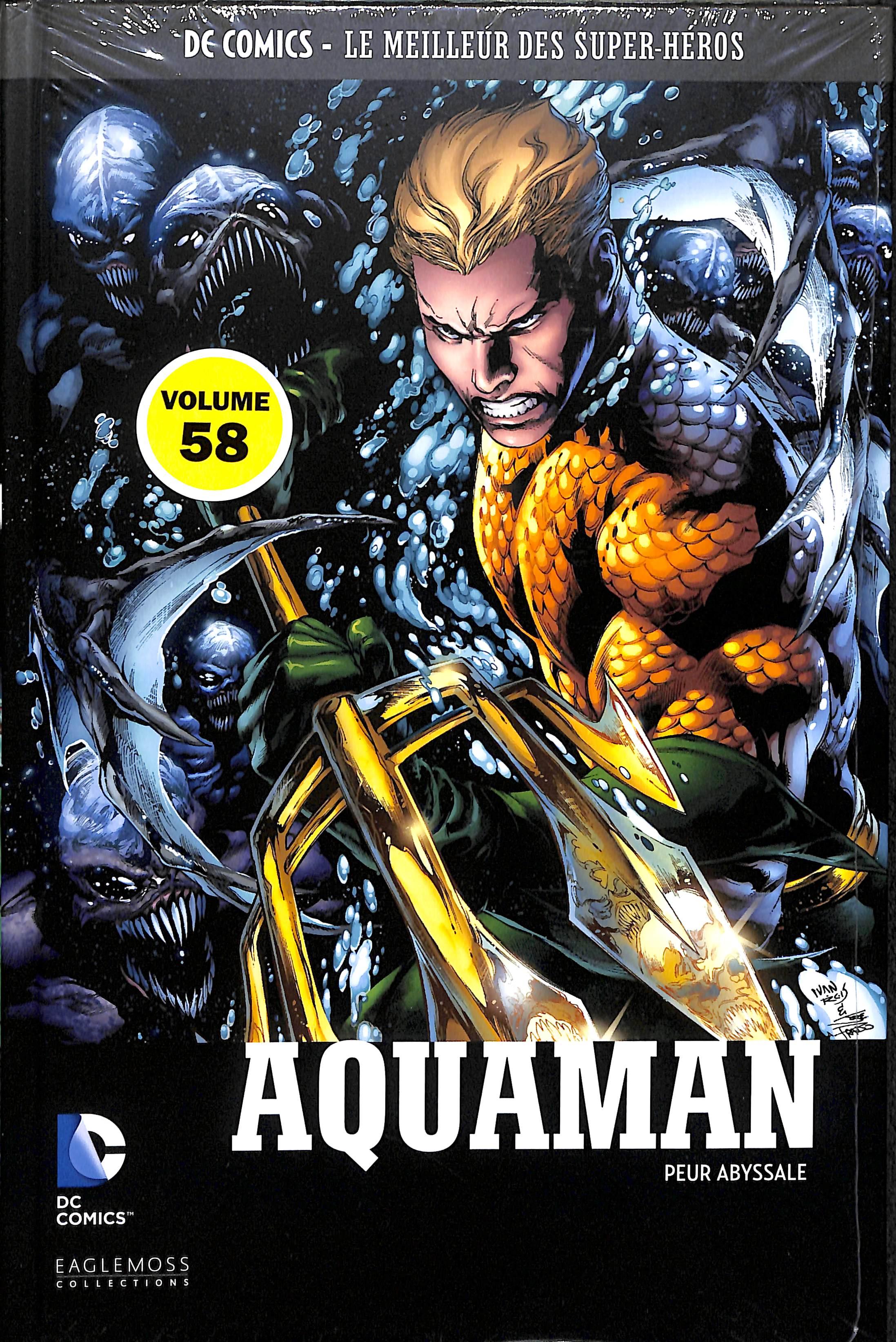 DC Comics - Le Meilleur des Super-Héros 58 - Aquaman - Peur abyssale