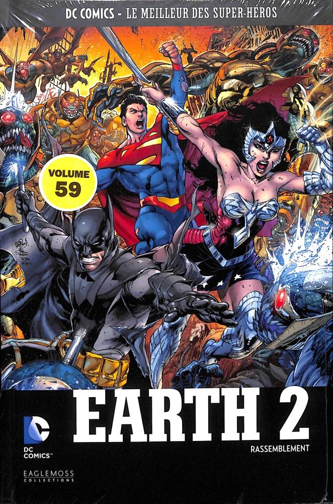 DC Comics - Le Meilleur des Super-Héros 59 - Earth 2 - Rassemblement