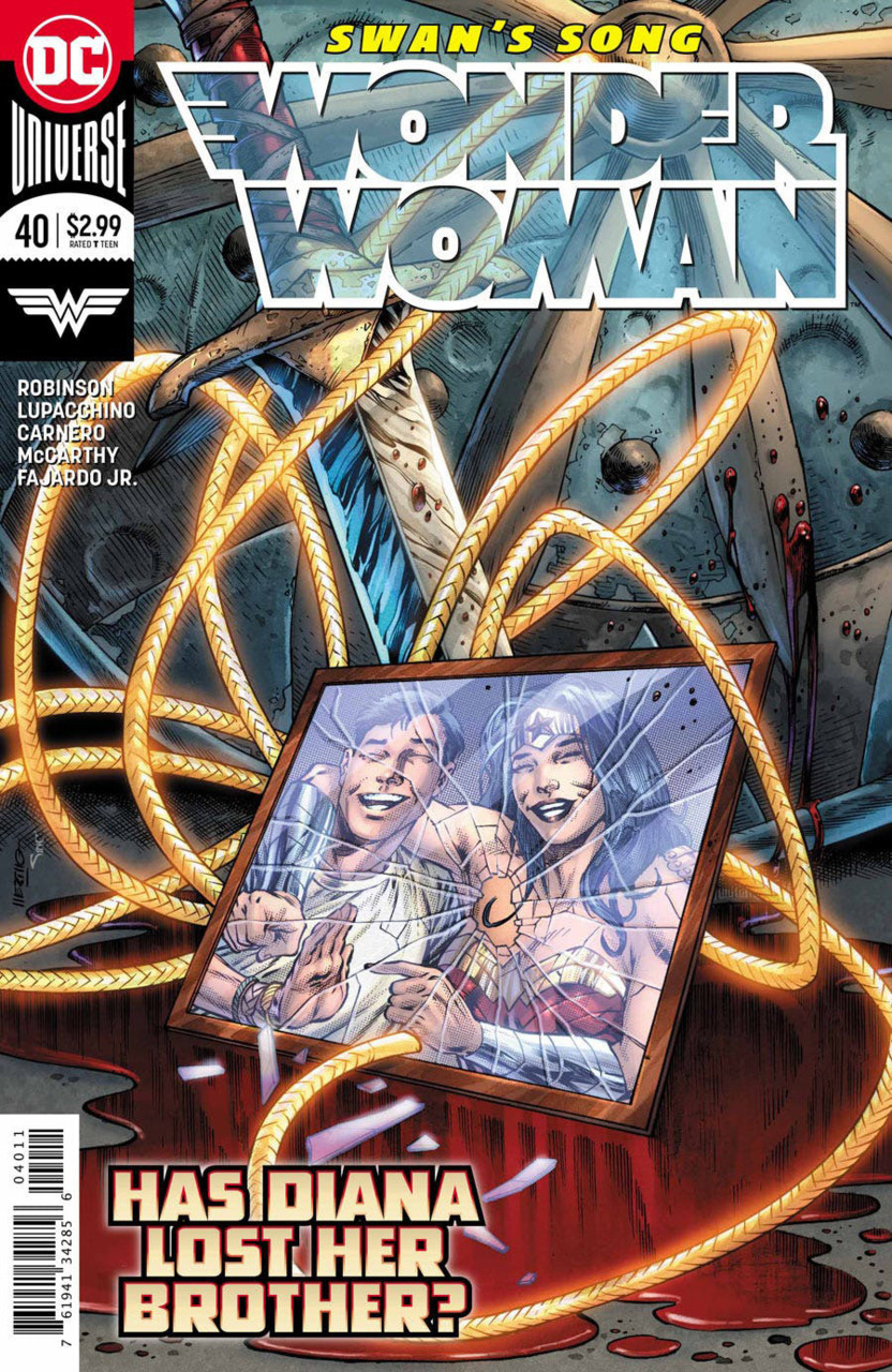 Wonder Woman 40 - 40 - Has Diana lost her Brother?