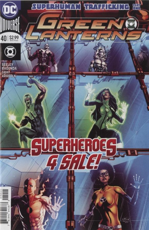 Green Lanterns 40 - Superhuman Trafficking 1