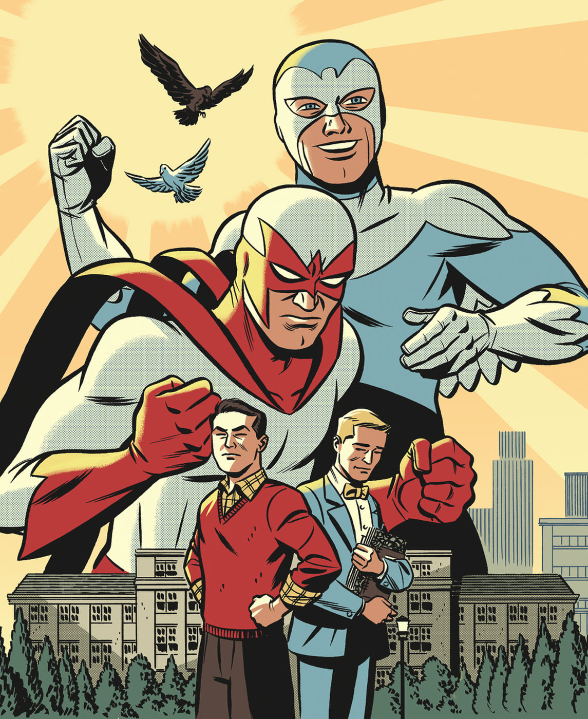 The Hawk and the Dove - The Silver Age 1