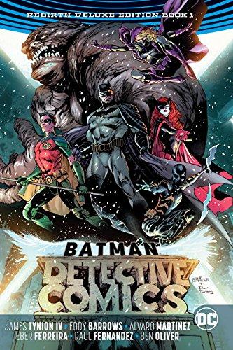 Batman - Detective Comics 1 - Rebirth Deluxe Edition Book 1