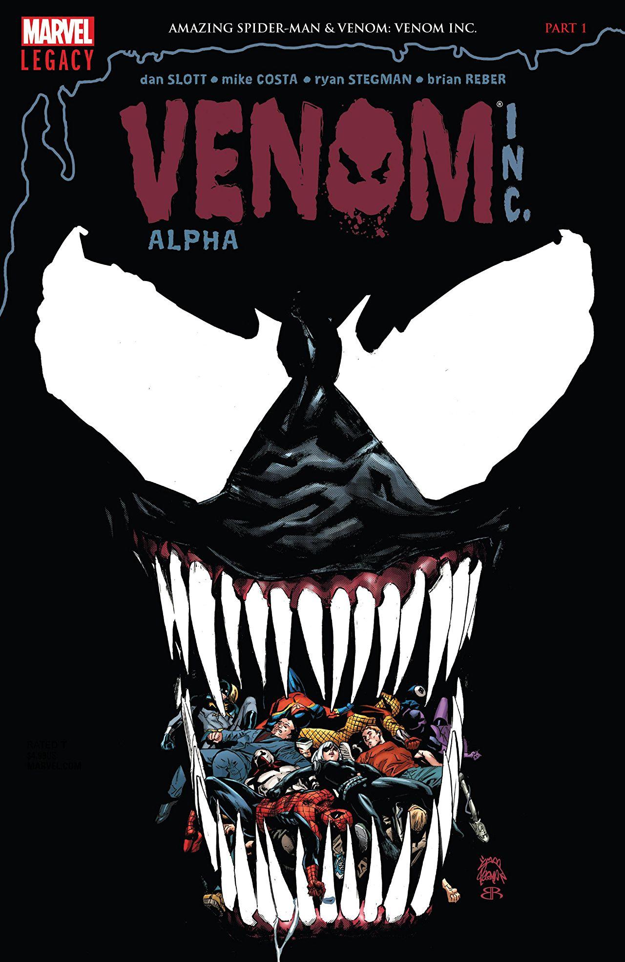 Amazing Spider-Man - Venom INC. Omega 1 - Alpha